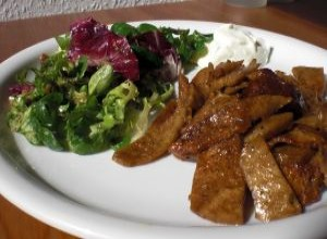 Seitan Gyros (Low Carb vegetarisch / vegan)