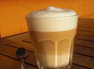 Rotbuschtee Latte-Macchiato (vegan)