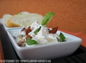 Ricotta &#8211; Creme (vegetarisch Grillen)