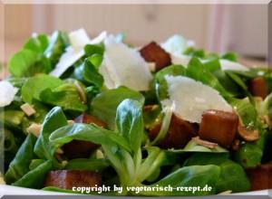 Feldsalat Rezept (vegetarisch und vegan)