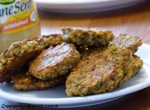 Low Carb Rezepte – Frikadellen (vegetarisch)
