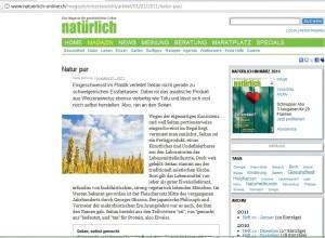 Mein Buch in der Schweizer Zeitung ! *freu* :-)
