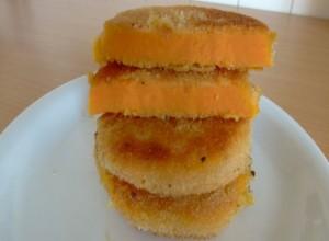 Süßkartoffel Rezept – Süßkartoffelschnitzel