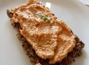 Brotaufstrich: Cashew – Paprika – Creme