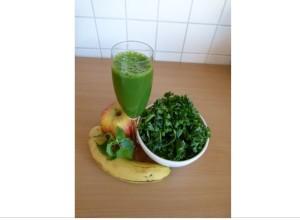 Grüner Smoothie Rezept 1
